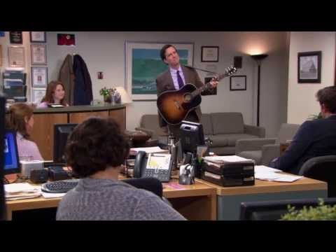 Andy Bernard I Will Remember You The Office HD - YouTube :(