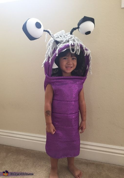 Boo from Monsters Inc DIY Halloween Costume