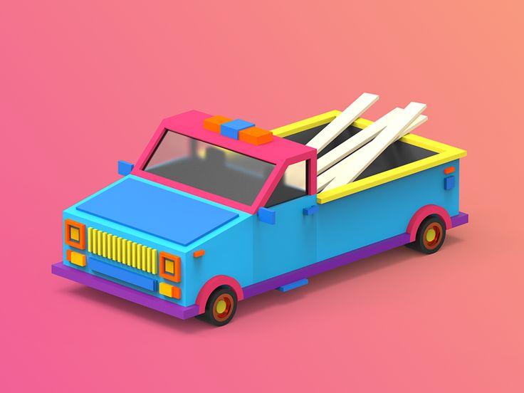 3/4 Car by tolitt