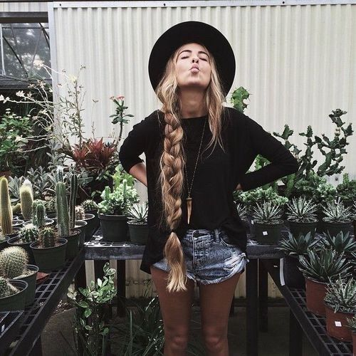 Image via We Heart It || Boho Mojo/ Cactus Farm/Free Spirit/Nurture Nature/Fashion ☆