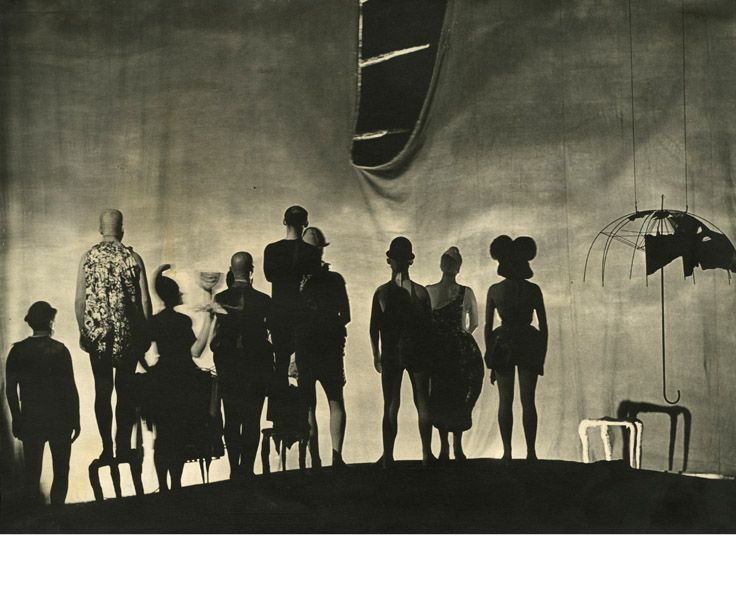 Rhinoceros by Eugène Ionesco, directed by Piotr Pawłowski, set design by Tadeusz Kantor, 1961 Photo: Wojciech Plewinski http://www.plewinski.com/