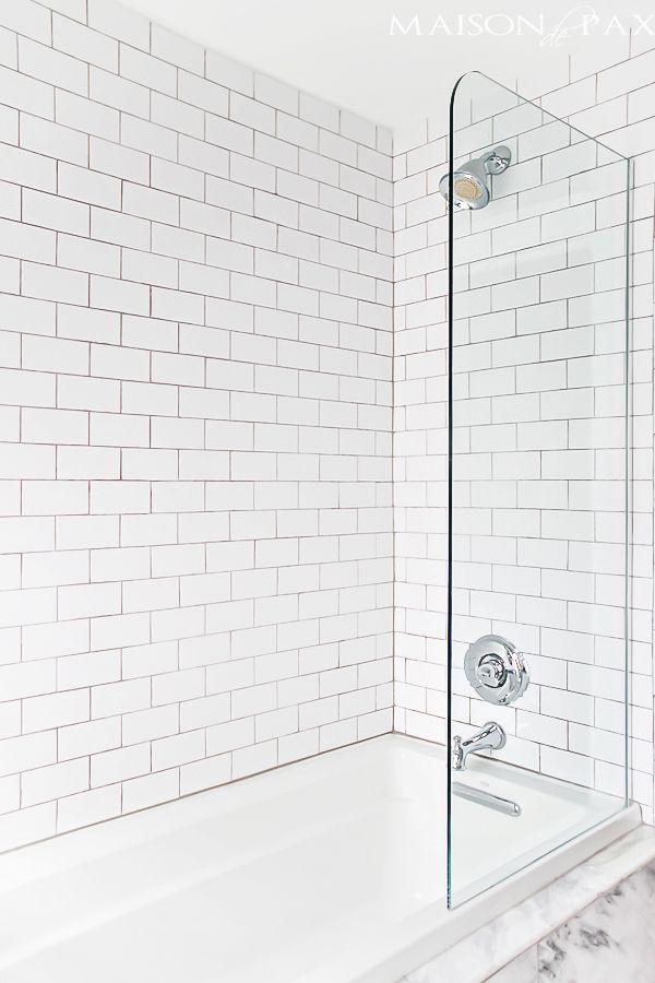 10 tips for designing a small bathroom white doorshower bath combobath