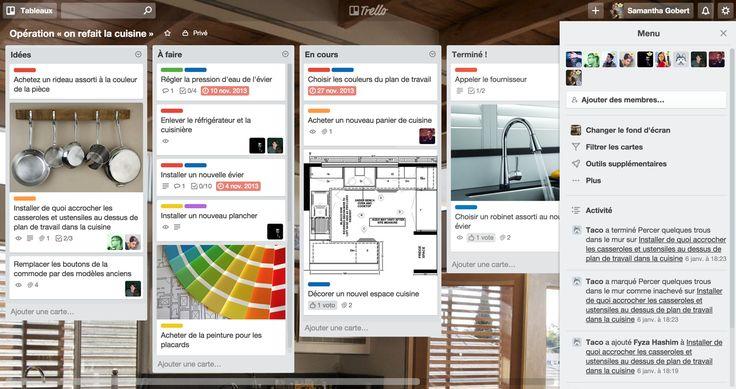 Infiniment souple. Incroyablement facile d'utilisation. Des applications mobiles fantastiques. Le tout gratuit. Trello garde un œil sur tout, depuis la vue d'ensemble jusqu'aux plus petits détails.