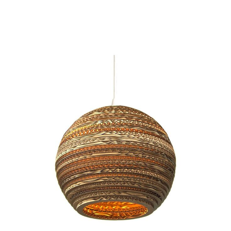 MOON Scraplight  the pendent corrugated cardboard lamp created by the  designers from Graypants studio 45 best lighting images on Pinterest   John lewis  Ceiling pendant  . Lunar Lighting Uk. Home Design Ideas