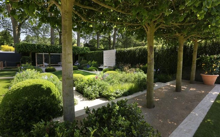 A selection of photographs of the show gardens at the Chelsea Flower Show 2014