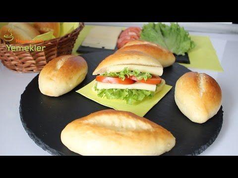 Küçük Sandviç Ekmekleri ( Somunları ) - YouTube