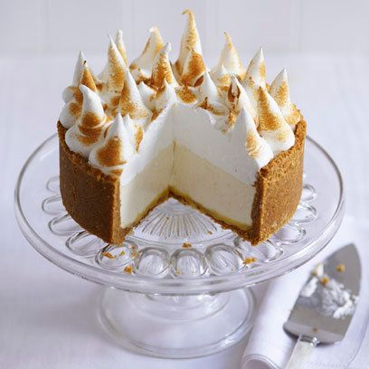 Lemon meringue cheesecake. For the full recipe, click the picture or visit RedOnline.co.uk