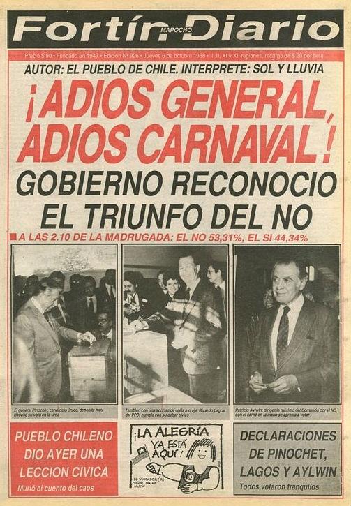 Fortín Mapocho - 06 de octubre de 1988.