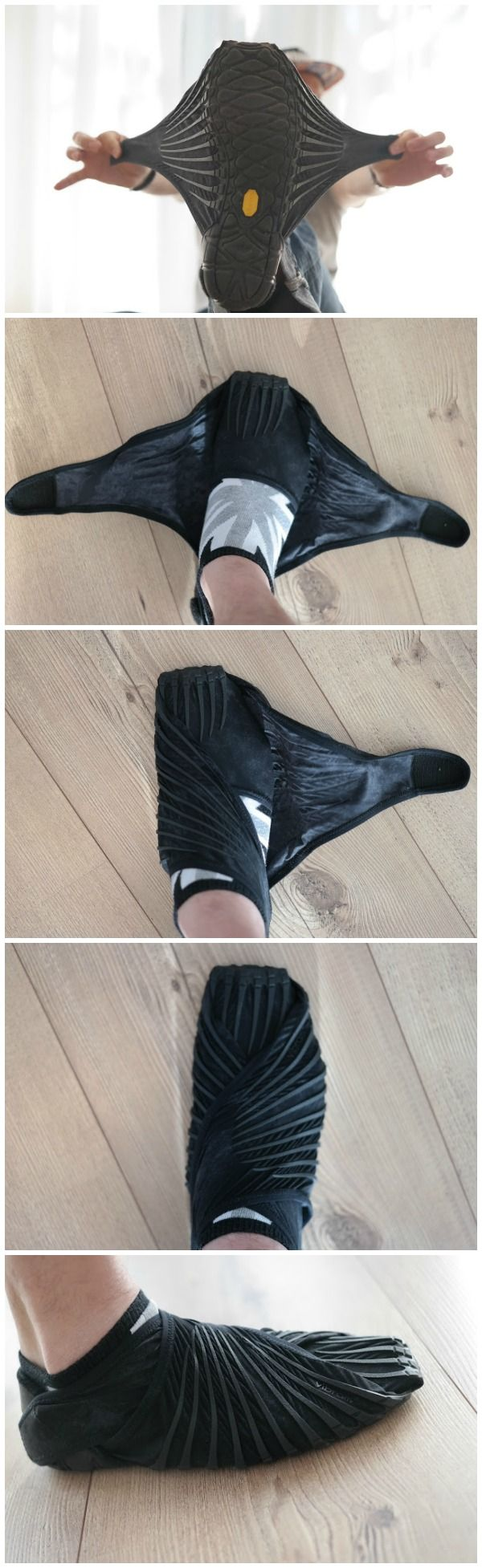 Vibram Furoshiki is the first wrap-around sole that adapts perfectly to the foot. Wrap around design ensures wearability, freedom of movement and comfort. / TechNews24h.com