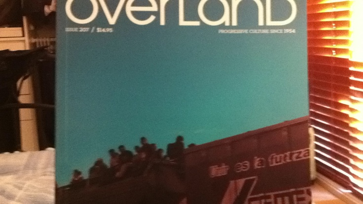 Overland, Issue 207, Winter 2012 - an excellent excuse to spend Saturday morning in bed.