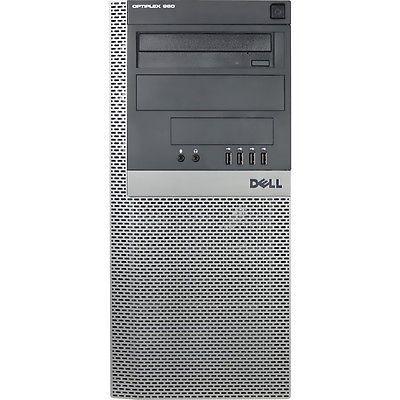 Dell - Refurbished Desktop - Intel Core 2 Duo - 4GB Memory - 160GB Hard Drive