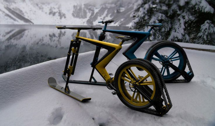Cool bike concept lets you go cycling and skiing at the same time » Lost At E Minor: For creative people