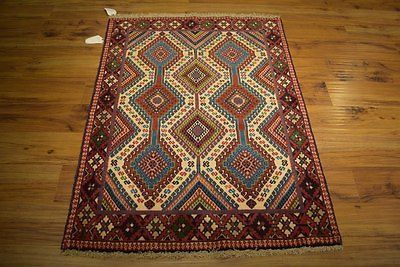 Small Cheap Rugs for Sale Hand Knotted 3x4 Fine Quality Yalameh Rug Persian IRAN