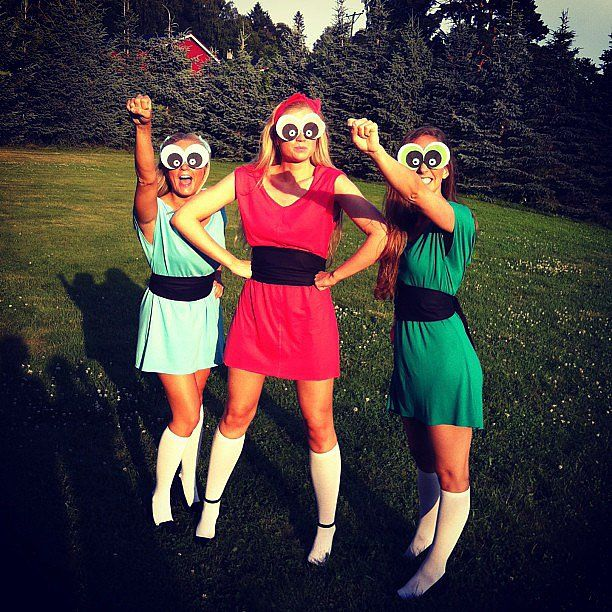 The Powerpuff Girls costume idea for you and your BFFs this Halloween