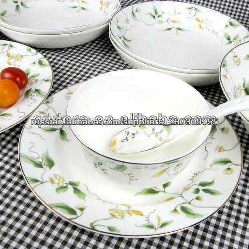 костяной фарфор посуда набор посуды-Наборы столовых приборов-ID продукта:1100000645117-russian.alibaba.com