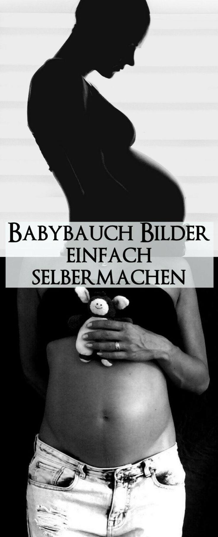 Bilder vom Schwangerschaftsbauch einfach selber machen – Ideen und Umsetzung