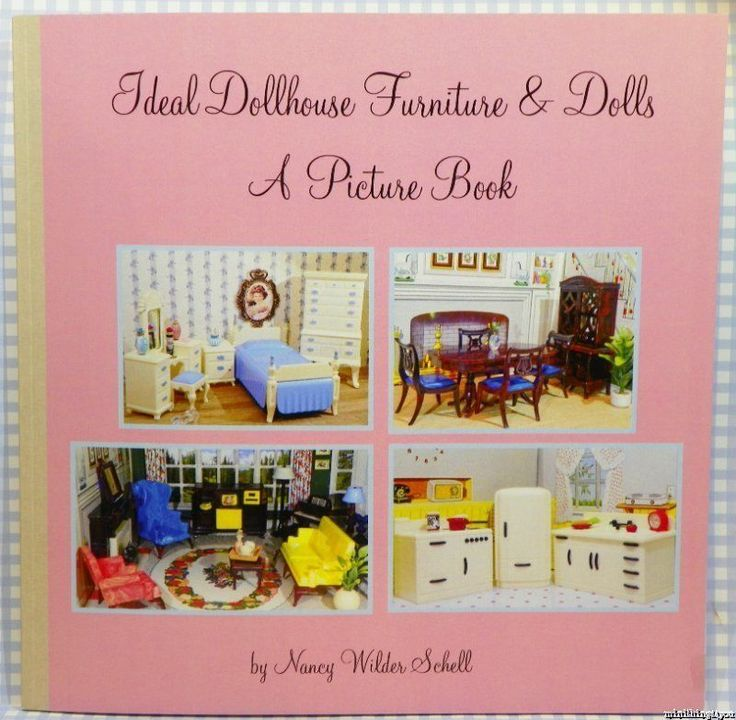 Ideal Picture Book Vintage Miniature Dollhouse Furniture Book Guide Renwal | eBay