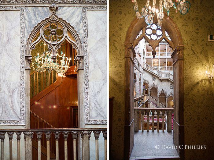 Venice Italy Venetian Palazzo Interiors   Hotel Danieli interior, Venice, Italy
