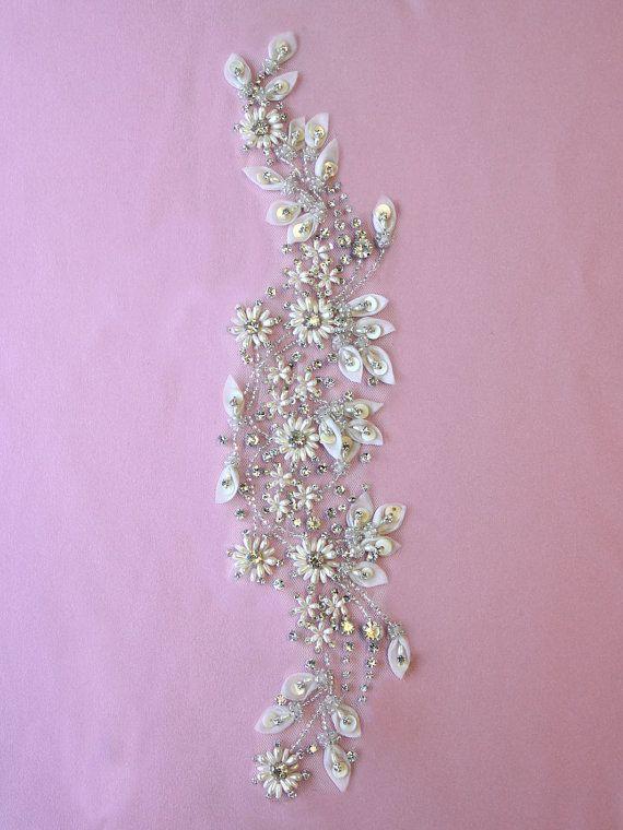 Swarovski Crystal Embroidery Atlas by allysonjames on Etsy, $178.98