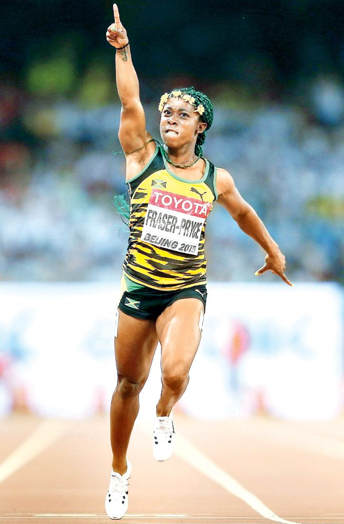 Athlete • Shelly-Ann Fraser-Pryce •