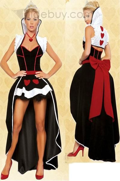 Deluxe Sexy Queen Of Hearts Adult Costume YM177 : Tidebuy.com