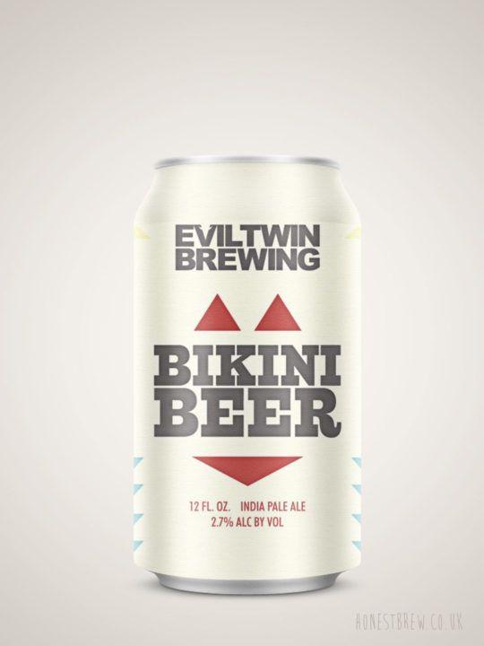 Evil Twin - Bikini Beer Pale Ale   Buy Online at HonestBrew