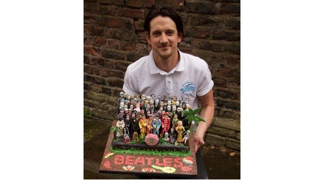 Adams Cakes produces Beatles-themed creation for 50th anniversary - British Baker