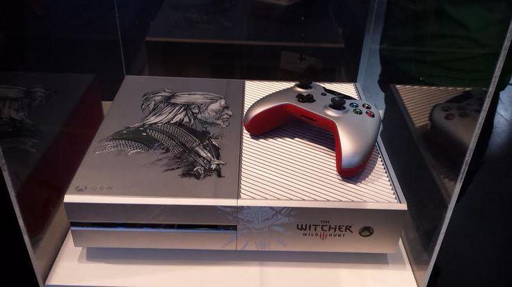 Custom Witcher 3 Xbox One revealed. http://l.gamespot.com/1GdswkT