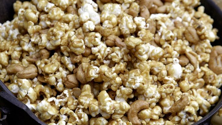butter crunch popcorn crunch popcorn popcorn recipe macadamia butter ...