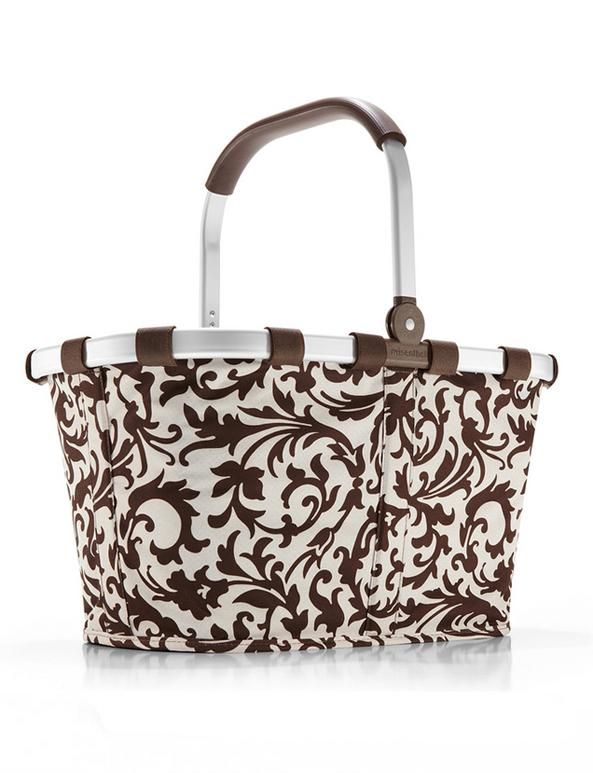 Koszyk carrybag baroque sand - DECO Salon #reisenthel #basket #shoping #giftidea  #bag #homeaccessories