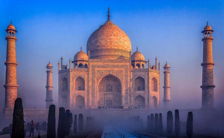 Taj Sunrise !!! by Monsoon Photo on 500px | Taj Mahal ...