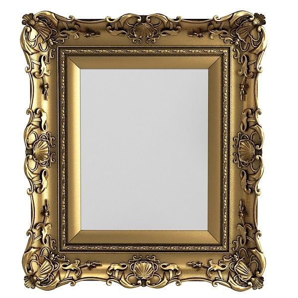Picture Frames On The Wall With Mirror