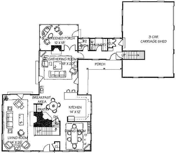 Superb Plan W17130CC: Corner Lot, Traditional, Colonial, Photo Gallery House Plans  U0026 Home