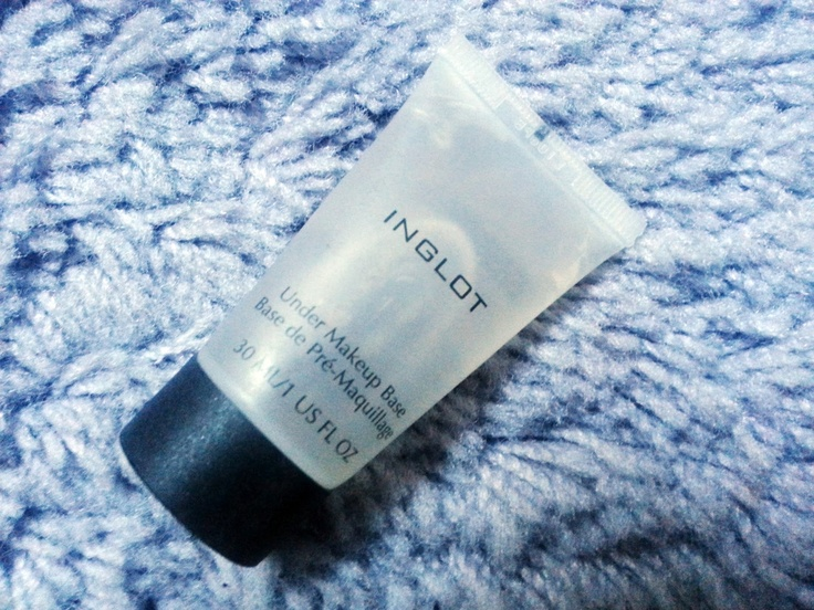 Today I'm wearing Inglot Primer    Micro-review: http://scatterbrainedblogging.blogspot.ie/2013/04/today-im-wearing.html