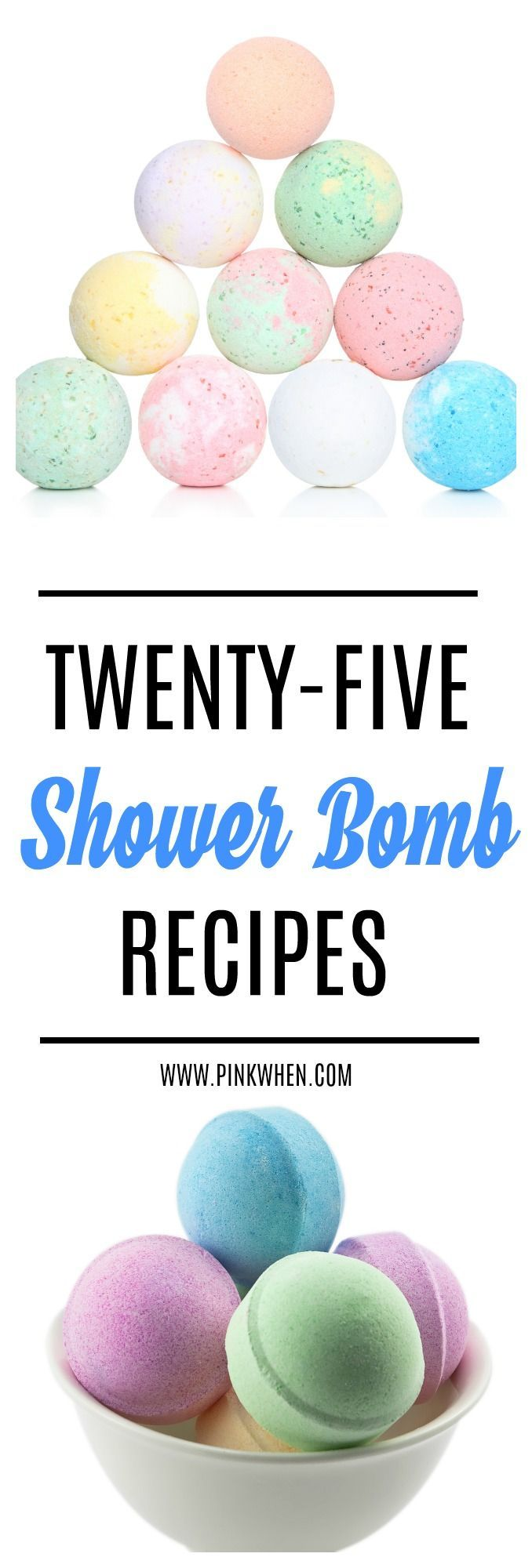Check out our list of 25 Shower Bombs That Make Perfect Gifts for any occasion! These are ideal for soothing, having fun making with kids, and more! PINKWHEN
