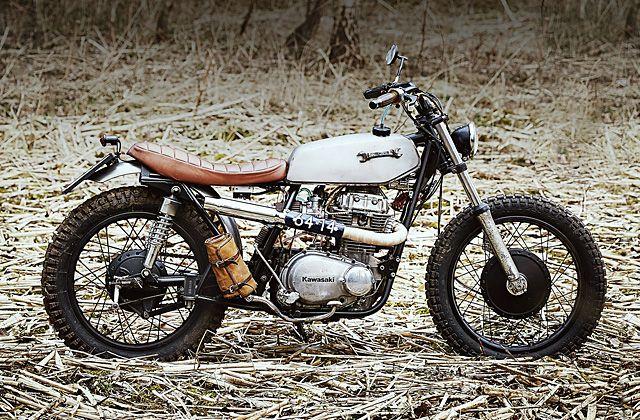 1979 Kawasaki Z400 tracker by Klassik Kustoms