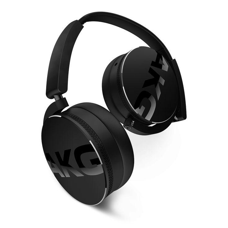 AKG Y50 Black Slušalice