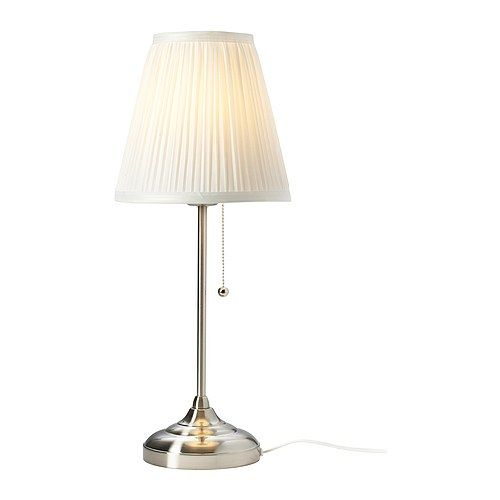 ÅRSTID Table lamp IKEA The textile shade provides a diffused and decorative light.