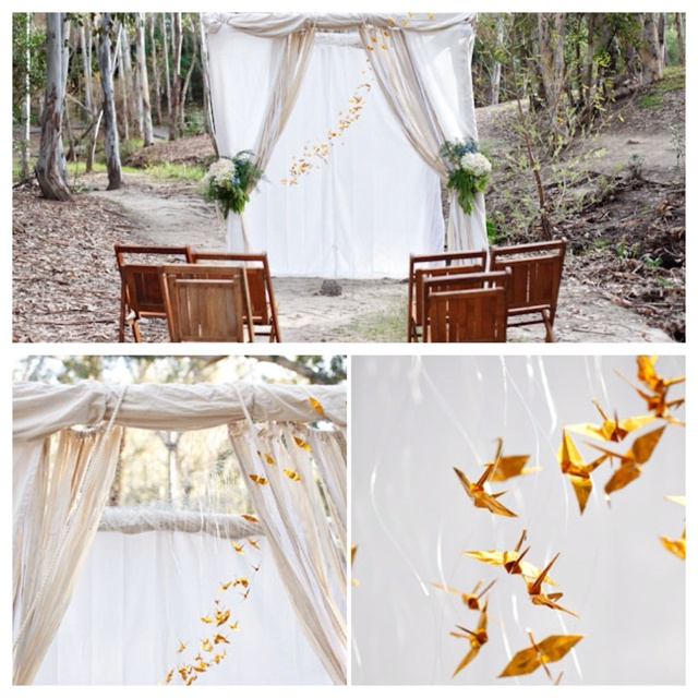 Wedding Ideas Outdoor Wedding Altar: 1000+ Ideas About Outdoor Wedding Altars On Pinterest