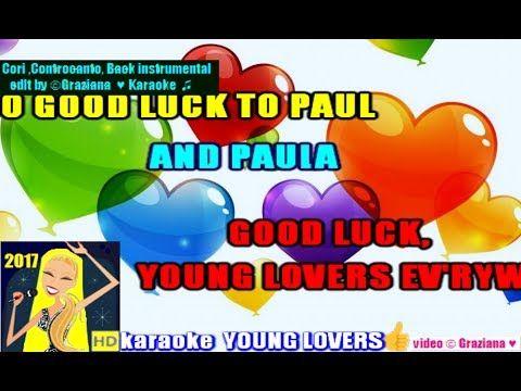 YOUNG LOVERS Paul And Paula karaoke Playback instrumental wav edit by © ...