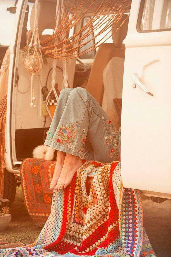 ☮ American Hippie Bohéme Boho Style ☮ Wanderlust