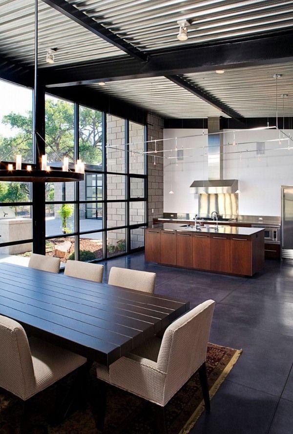 25 best salle à manger images on Pinterest Corner dining nook - table salle a manger loft