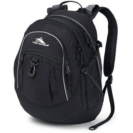 High Sierra Fat Boy Backpack, Black