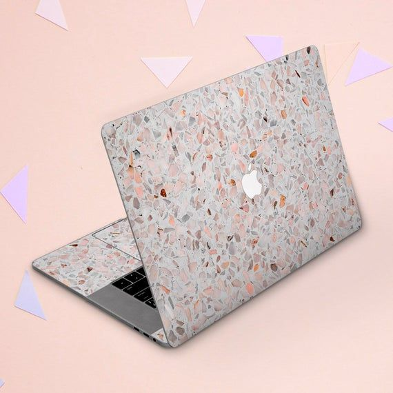 Macbook skin terrazzo Macbook skin stone Sticker keyboard Light marble Macbook Air 11 Macbook 2018 s