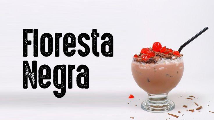 Aprenda a fazer essa deliciosa batida Floresta Negra. Receita completa no site.