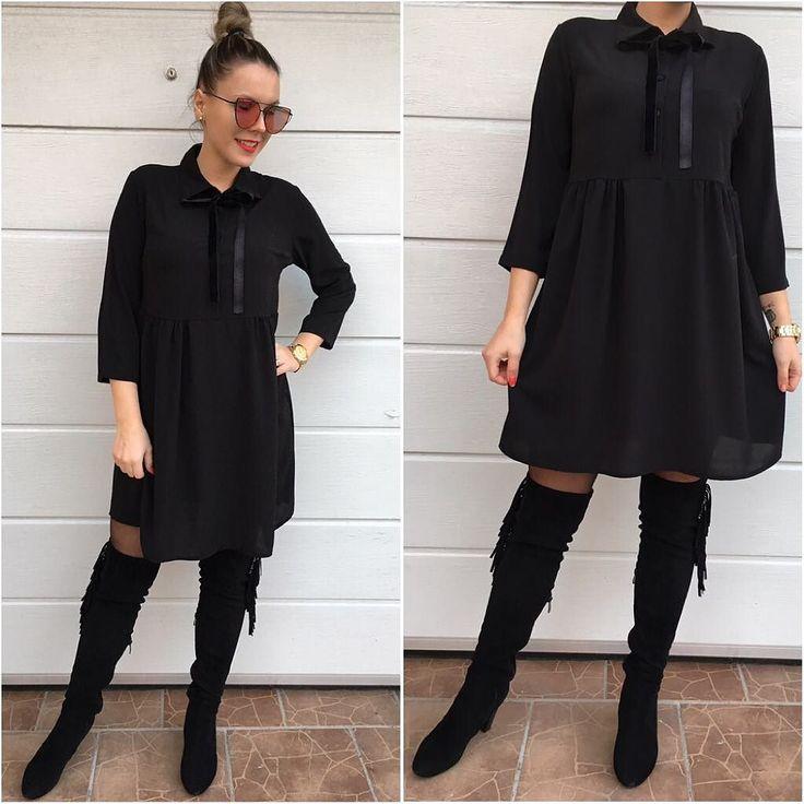Tip na vianočný darček  košielkové šaty so zamatovou stužkou okolo krku  veľkosť UNI-šaty sú vhodné pre SML 1690 dodanie do 24hod. Objednaj v directe na fb alebo priamo na www.tvojstyl.fashion  #tvojstyl#fashion