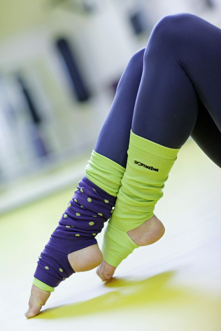 beautiful yoga leg warmers