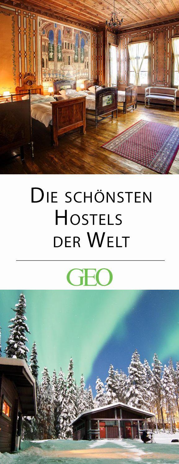 Die schönsten Hostels der Welt