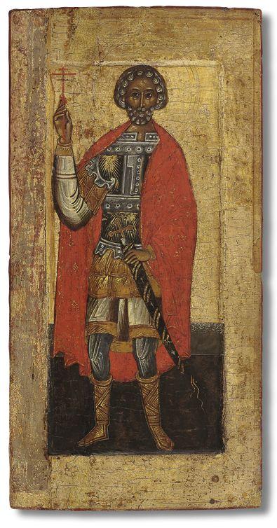 Святой воин великомученик Мина  Начало - первая треть XVI века. Тверь