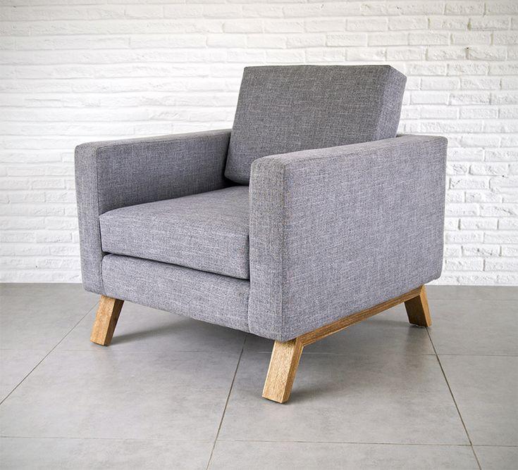 Q Easy chair. Designed by Camilo Cálad for Macrocéfalo Diseño. #chair #armchair #easychair #furniture #design #silla #sillon #poltrona #muebles #diseño